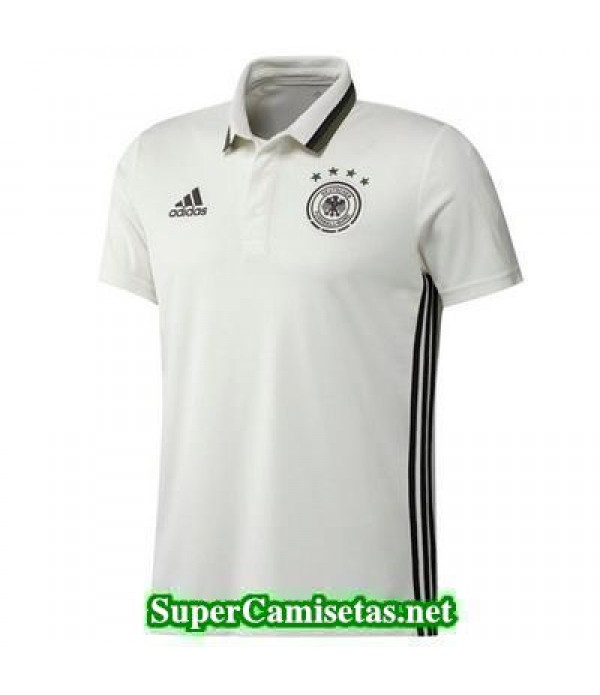 Camiseta polo Alemania blanco 2016 2017