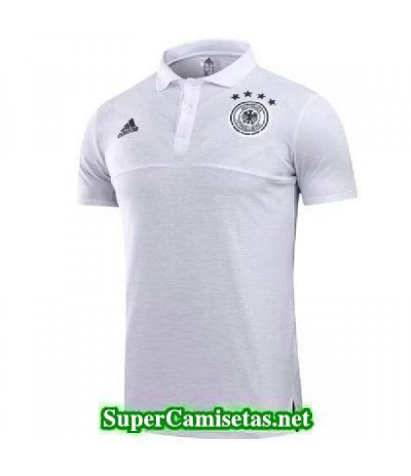 Camiseta polo Alemania blanco 2017 2018