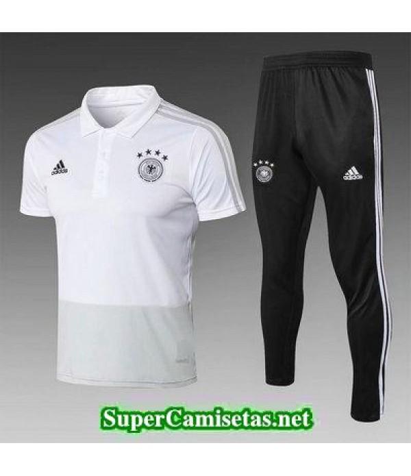 Camiseta polo Alemania Blanco 2018 2019