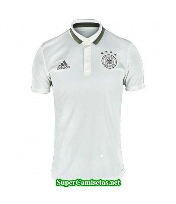 Camiseta polo Alemania blanco Eurocopa 2016