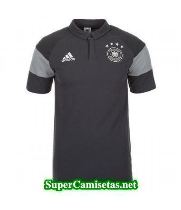 Camiseta polo Alemania gris 2016 2017