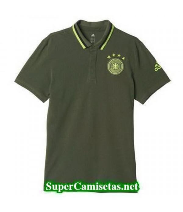 Camiseta polo Alemania Verde 2016 2017