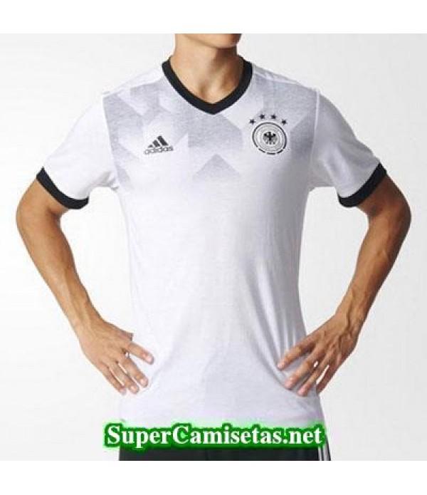 camiseta pre-partido Alemania Blanco 2016 2017