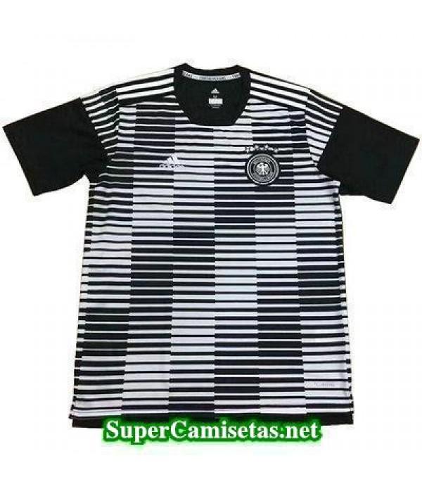 camiseta pre-partido Alemania Negro 2018 2019