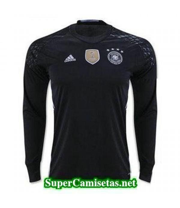 Portero Equipacion Camiseta Alemania Manga Larga Eurocopa 2016