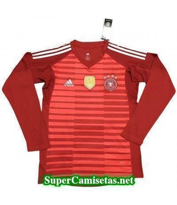 Portero Equipacion Camiseta Alemania ML Rojo Copa ...