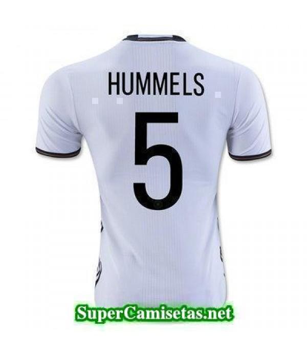 Primera Equipacion Camiseta Alemania HUMMELS Eurocopa 2016