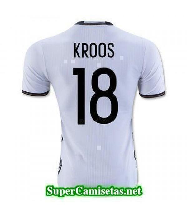 Primera Equipacion Camiseta Alemania KROOS Eurocopa 2016