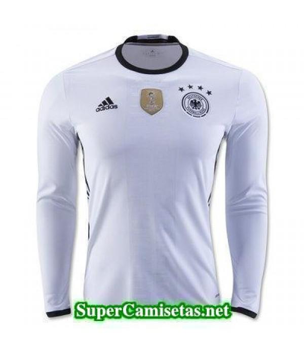 Primera Equipacion Camiseta Alemania Manga Larga Eurocopa 2016