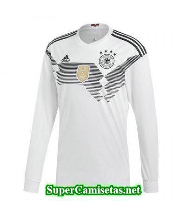 Primera Equipacion Camiseta Alemania ML Copa Mundial 2018
