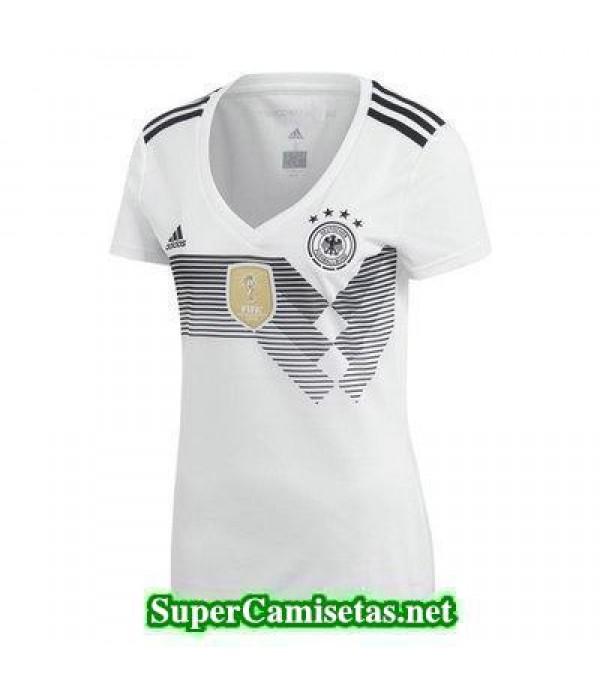 Primera Equipacion Camiseta Alemania Mujer Copa Mu...