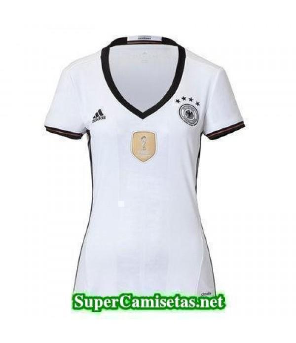 Primera Equipacion Camiseta Alemania Mujer Eurocopa 2016