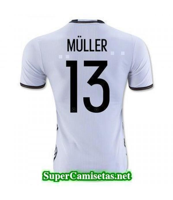 Primera Equipacion Camiseta Alemania MULLER Eurocopa 2016