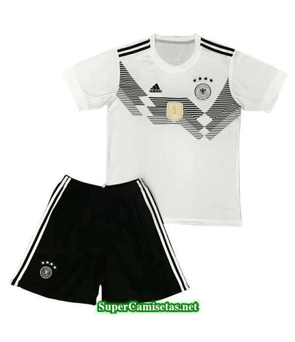 Primera Equipacion Camiseta Alemania Ninos Copa Mu...
