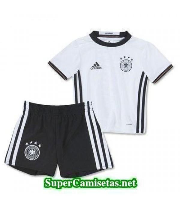 Primera Equipacion Camiseta Alemania Ninos Eurocopa 2016