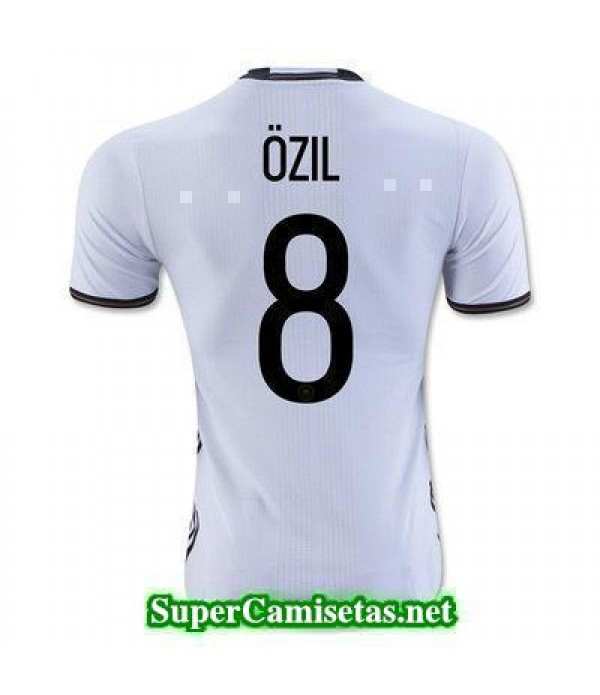 Primera Equipacion Camiseta Alemania OZIL Eurocopa 2016