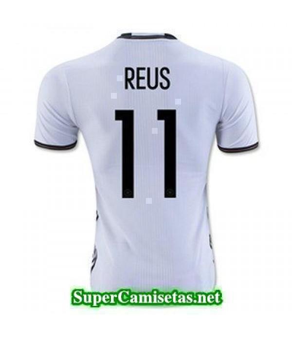 Primera Equipacion Camiseta Alemania REUS Eurocopa 2016