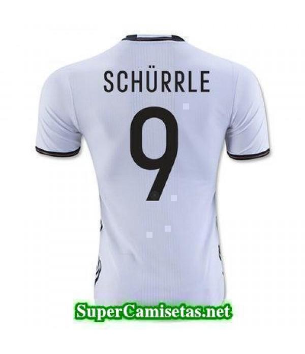 Primera Equipacion Camiseta Alemania SCHURRLE Eurocopa 2016
