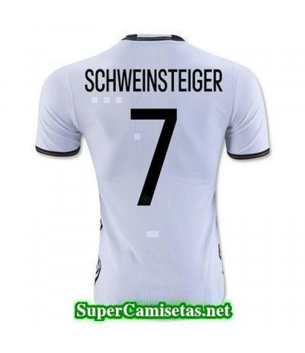 Primera Equipacion Camiseta Alemania SCHWEINSTEIGER Eurocopa 2016