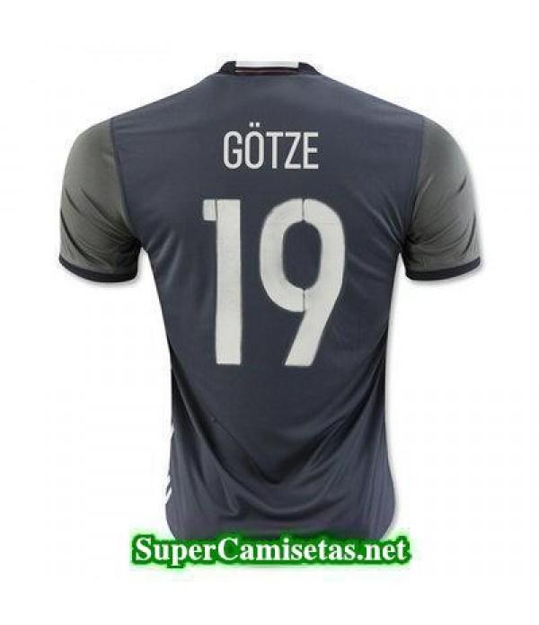 Segunda Equipacion Camiseta Alemania GOTZE Eurocopa 2016