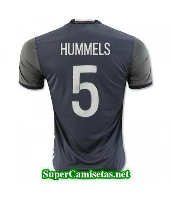 Segunda Equipacion Camiseta Alemania HUMMELS Eurocopa 2016