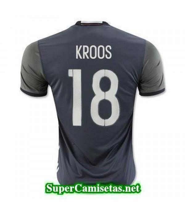 Segunda Equipacion Camiseta Alemania KROOS Eurocopa 2016