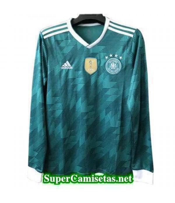 Segunda Equipacion Camiseta Alemania ML Copa Mundial 2018