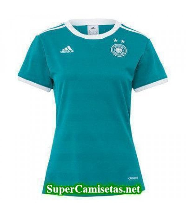 Segunda Equipacion Camiseta Alemania Mujer Eurocopa 2017