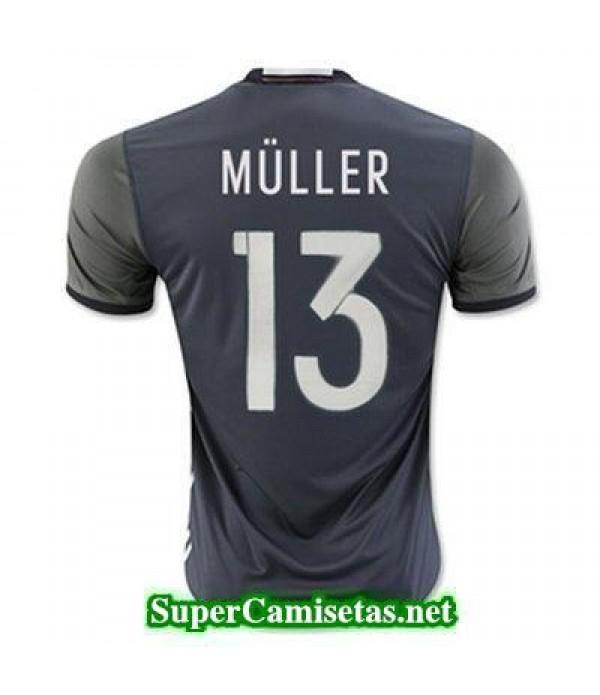 Segunda Equipacion Camiseta Alemania MULLER Eurocopa 2016