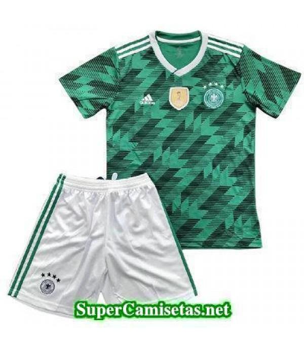 Segunda Equipacion Camiseta Alemania Ninos Copa Mundial 2018