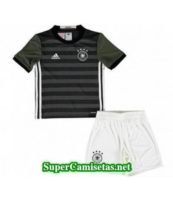Segunda Equipacion Camiseta Alemania Ninos Eurocopa 2016