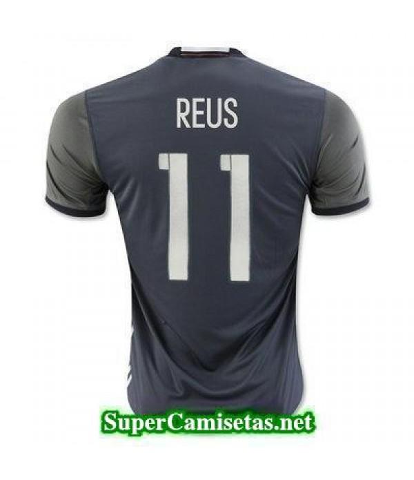 Segunda Equipacion Camiseta Alemania REUS Eurocopa 2016