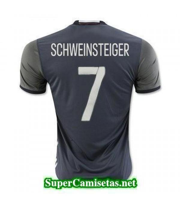 Segunda Equipacion Camiseta Alemania SCHWEINSTEIGER Eurocopa 2016