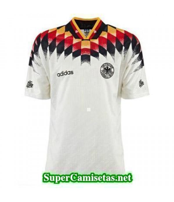 Tailandia Primera Equipacion Camiseta Alemania clasicas 1994