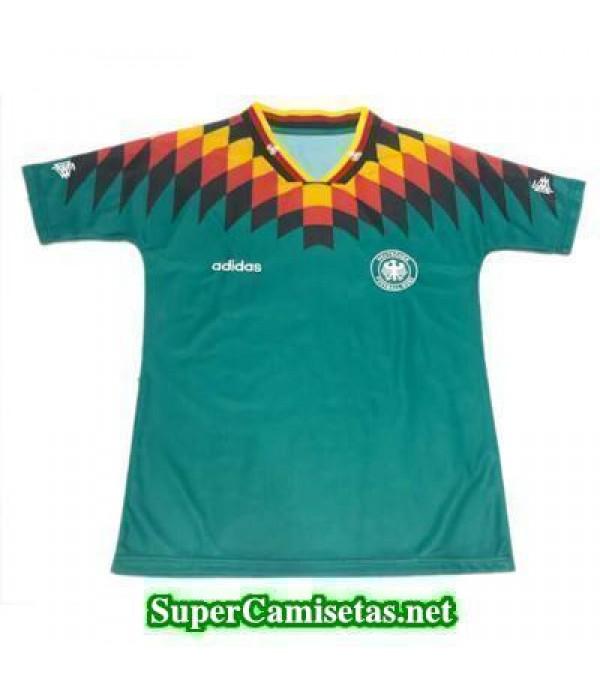 Tailandia Segunda Equipacion Camiseta Alemania clasicas 1994