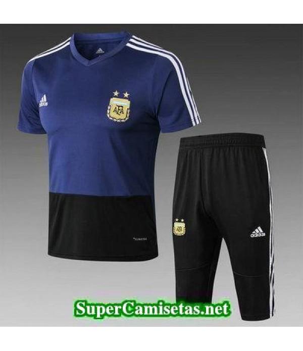 camiseta entrenamiento Argentina Azul 2018 2019