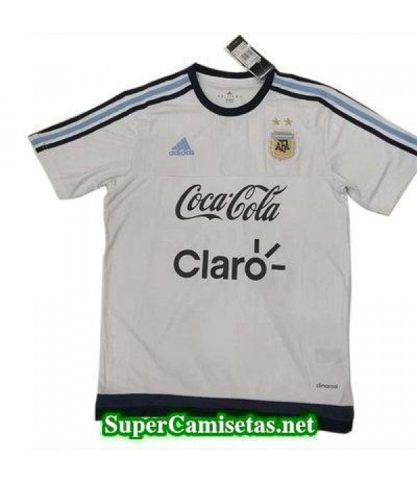Camiseta entrenamiento Argentina blanco 2017 2018