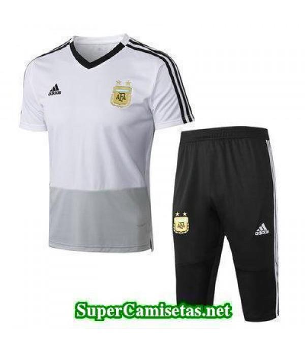 camiseta entrenamiento Argentina Blanco 2018 2019
