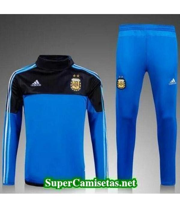 camiseta entrenamiento Argentina ML azul Negro 2016 2017