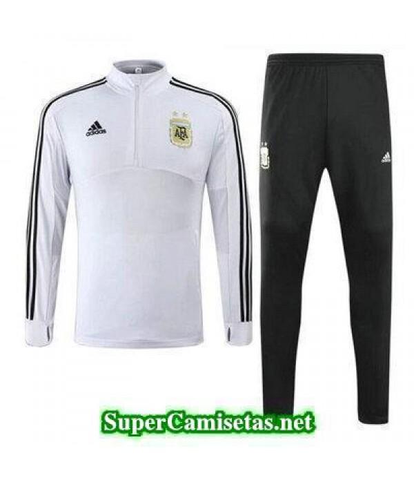 camiseta entrenamiento Argentina ML Blanco 2018 20...