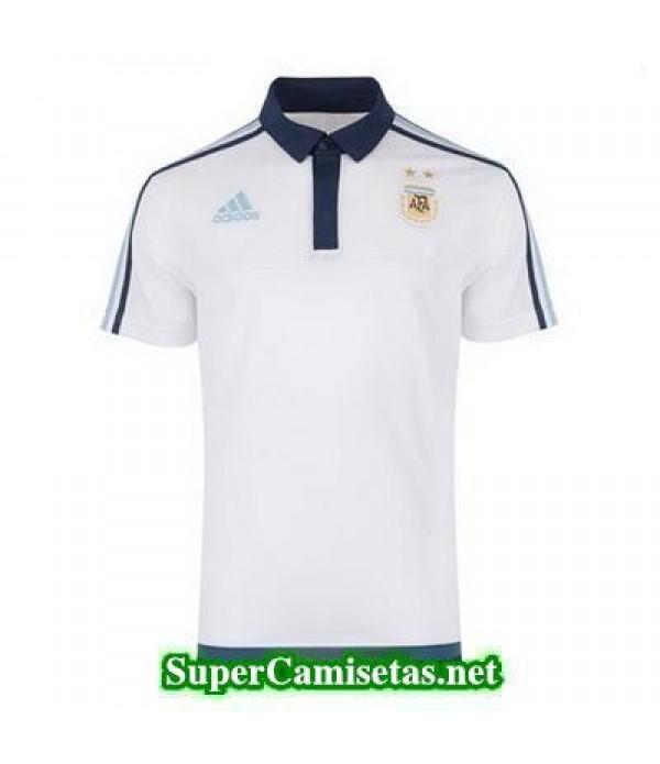 Camiseta polo Argentina blanco 2016 2017