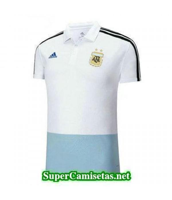 Camiseta polo Argentina Blanco 2018 2019