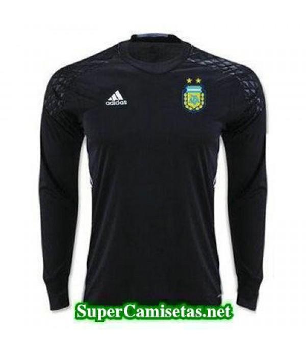 Portero Equipacion Camiseta Argentina ML Negro 201...