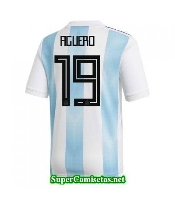 Primera Equipacion Camiseta Argentina Aguero Copa ...