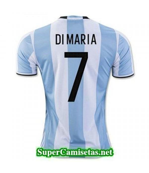 Primera Equipacion Camiseta Argentina DI MARIA Cop...