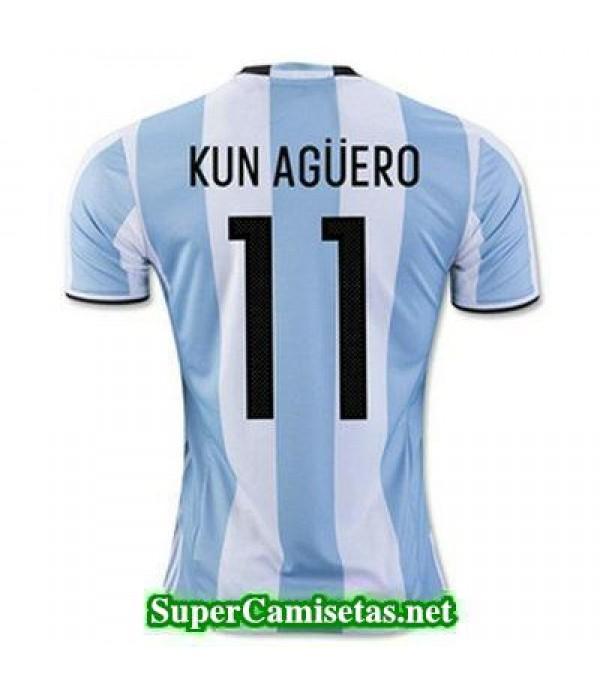 Primera Equipacion Camiseta Argentina KUN AGUERO C...