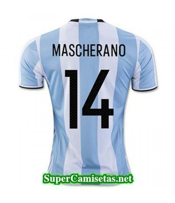 Primera Equipacion Camiseta Argentina MASCHERANO C...
