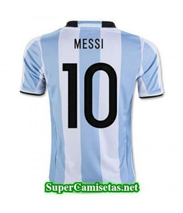 Primera Equipacion Camiseta Argentina MESSI Copa A...