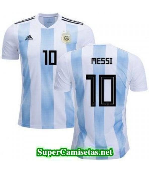 Primera Equipacion Camiseta Argentina Messi Copa M...