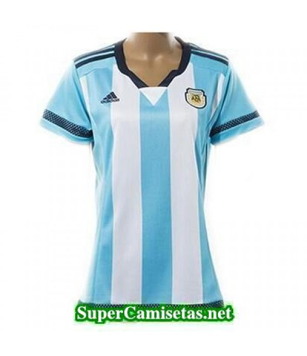 Primera Equipacion Camiseta Argentina Mujer Copa A...